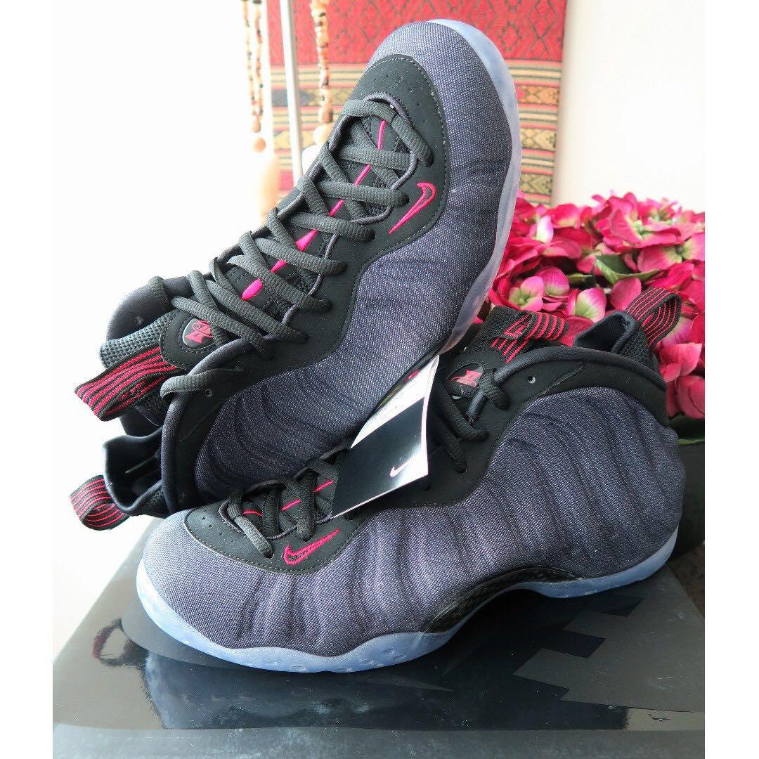 competitive price 462a2 03fc6 Nike Air Foamposite One 'Denim' Basketball Sneaker Shoe ...