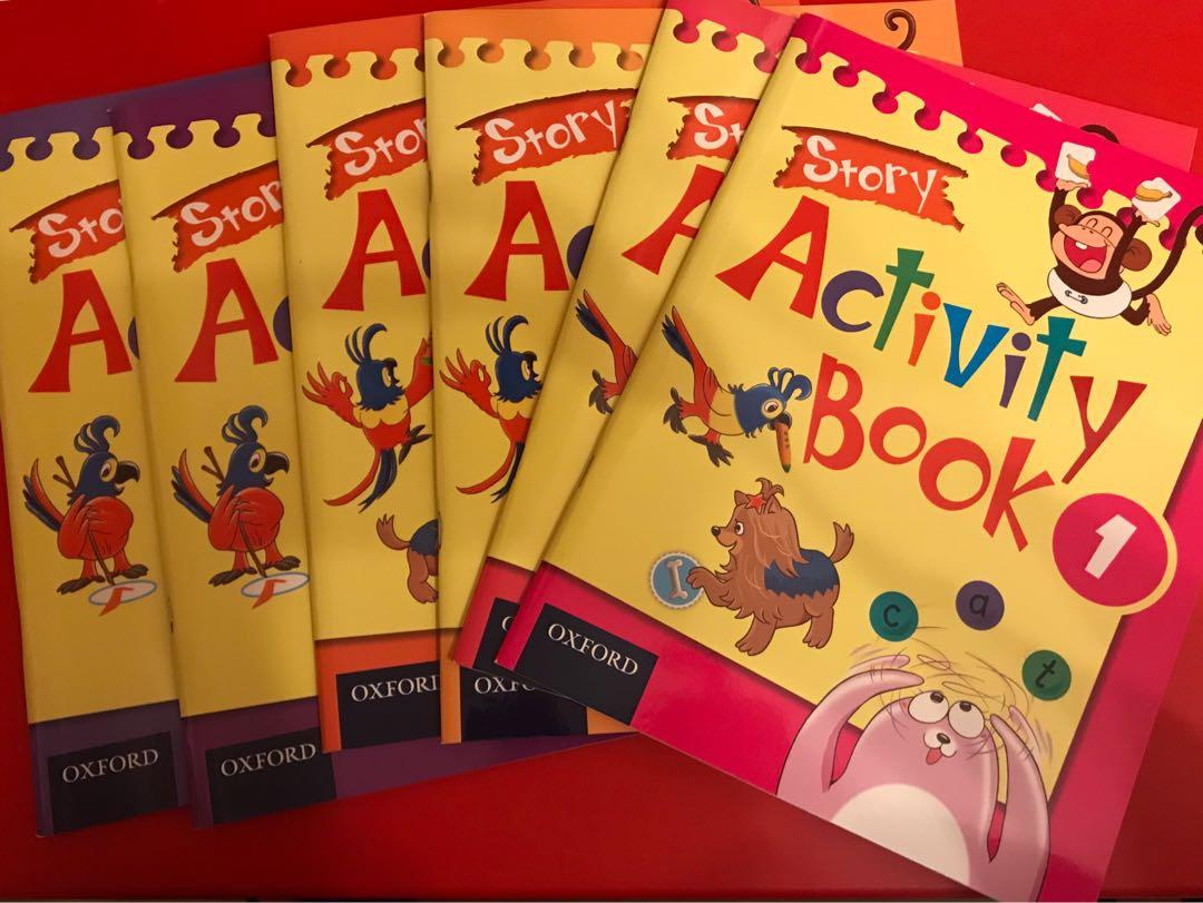 Oxford Path Activity Books 及其他Exercises一套
