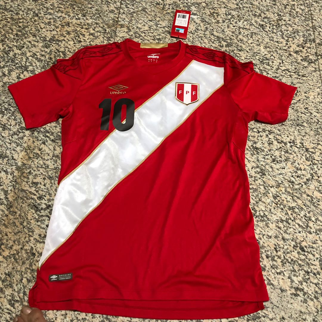 dbfe639cc50 Peru World Cup 2018 Away Jersey