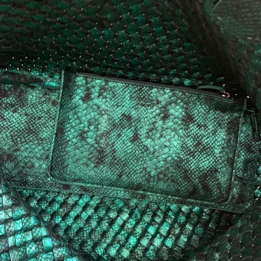 Preloved tas Like New bottage venetta made in italy kulit asli uk 55x30x18cm