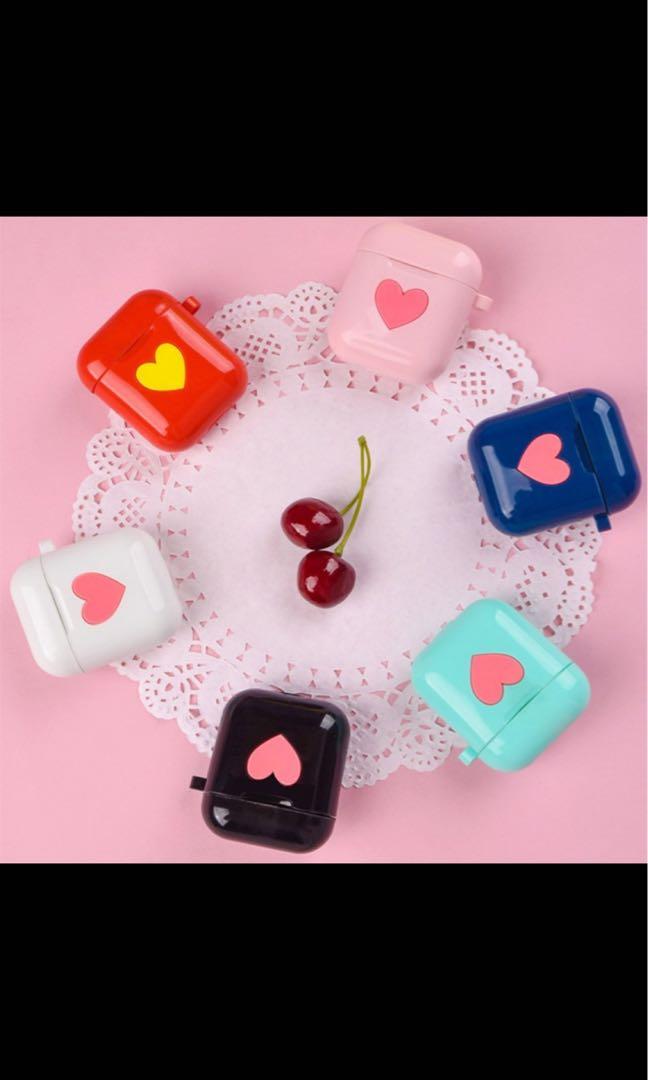 [Pre-Order] Adorable Heart Shape AirPod Case