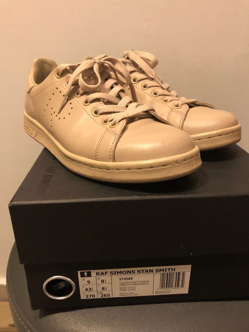 separation shoes 395a8 4ad7d Raf Simons Stan Smith US 9