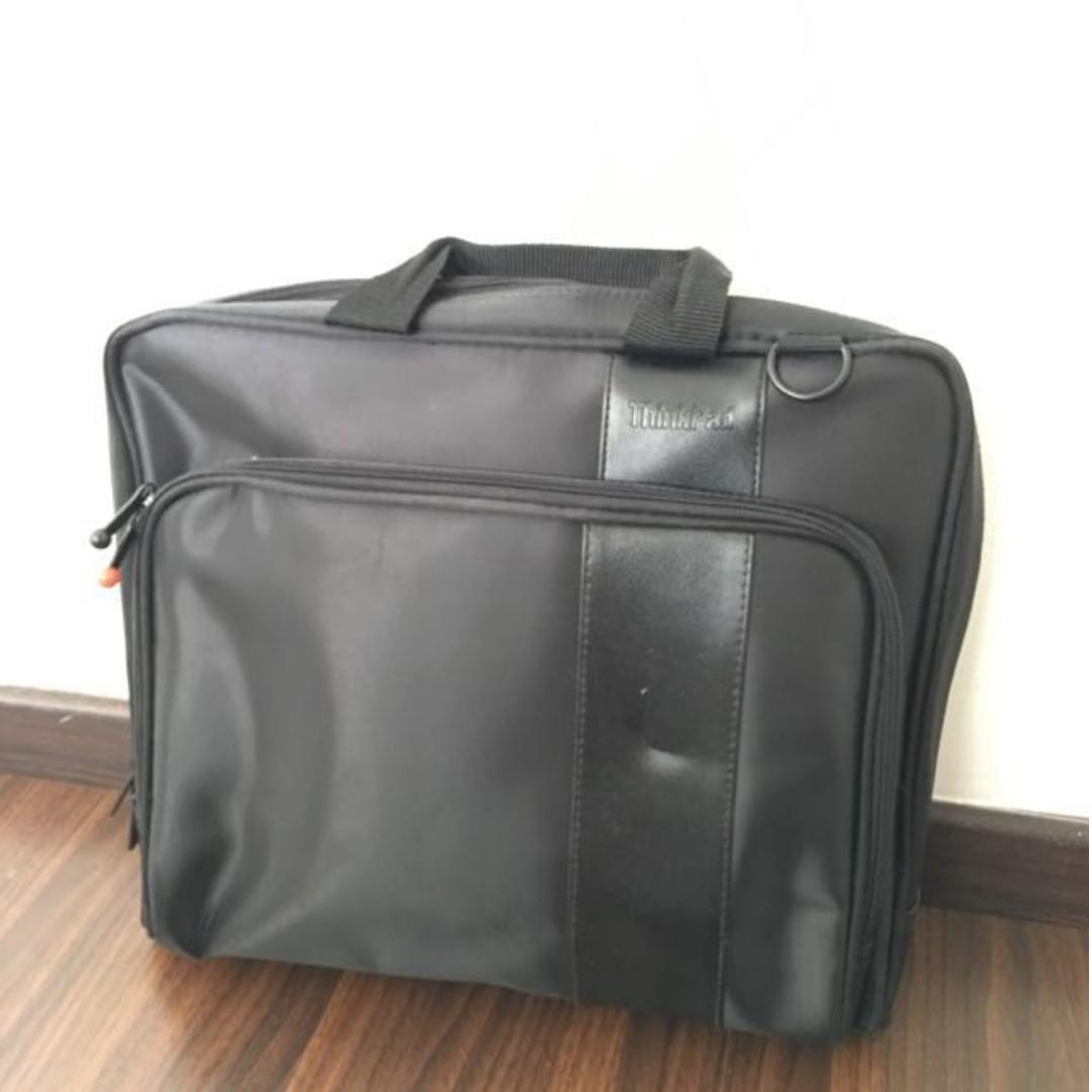 (Refurbished) Thinkpad Laptop Shoulder Bag for Laptop, Waterproof Polyester Briefcase Sleeve Case Cover Handbag