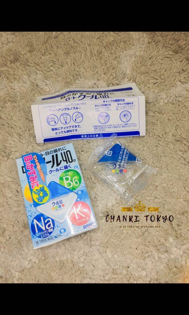 ROHTO 40a Cooling Eyedrops