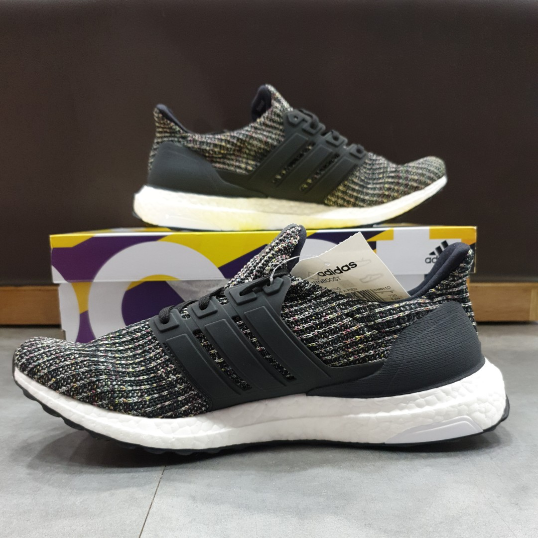 f0c63d2680 STEAL. BNIB NEW Authentic Adidas Men's Ultraboost 4.0 Black Carbon US8.5 to  US10