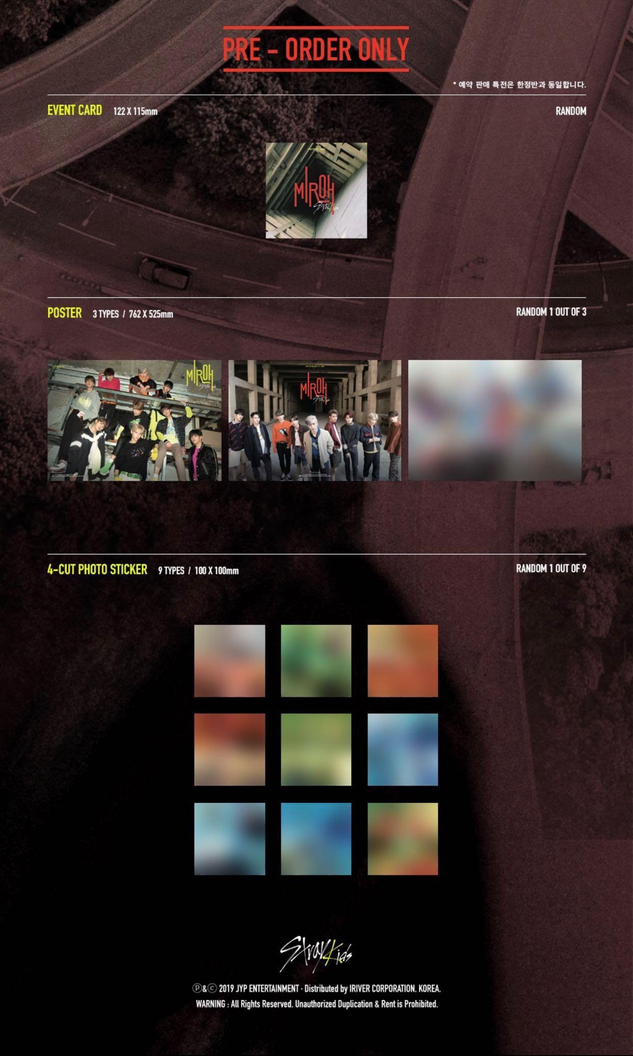 STRAY KIDS CLÉ 1: MIROH (Mini Album) *Normal Version*