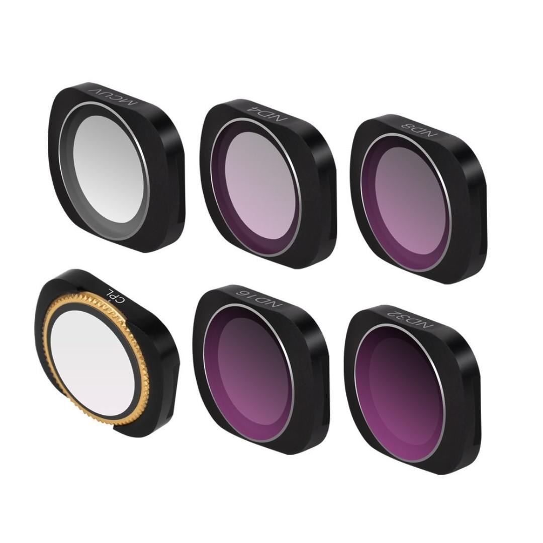e231f156fb1 SUNNYLIFE 6pcs ND Polarized Filter Lens (UV CPL ND4 8 16 32) For DJI ...