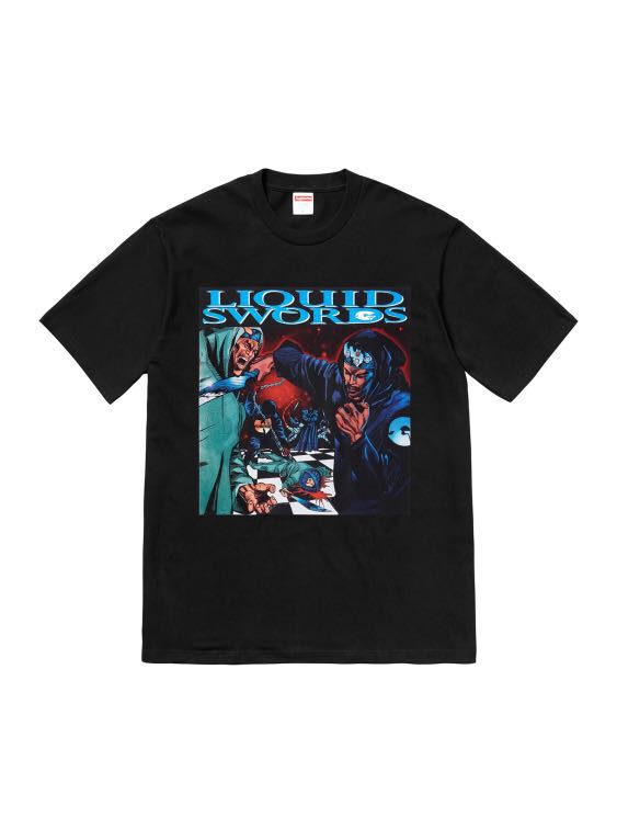 fe2ce9ec6107 Supreme Liquid Swords Tee, Men's Fashion, Clothes, Tops on Carousell