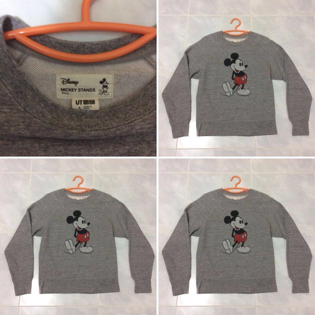 6648b631bd1 UNIQLO Disney Sweater Pullover (S)   Blk 185 Boon Lay