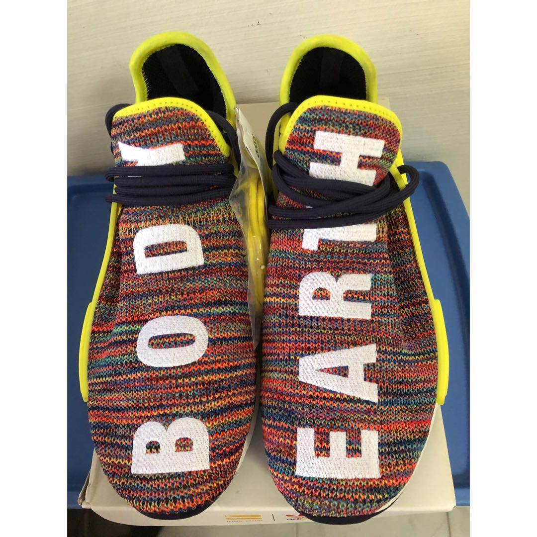 f7644898a US 8.5  PW Human Race NMD TR Multicolour