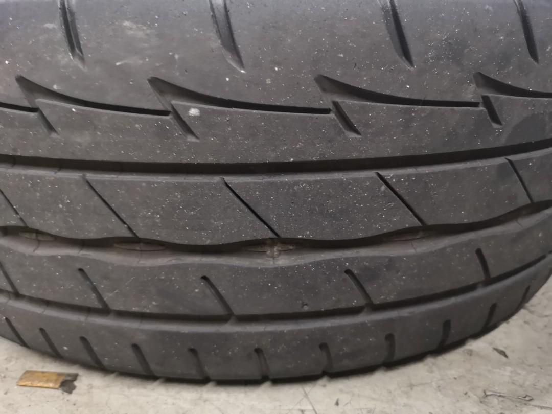 Used 17inc rim and tyre for trade