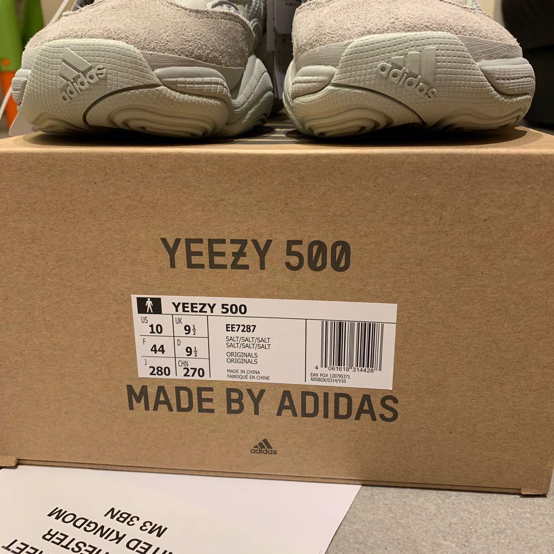 全新Yeezy 500 Salt (Made by Adidas) Size US10