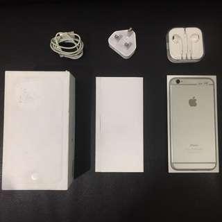 iPhone 6+ 128gb Silver Ex inter Mulus Like new Bisa Tt