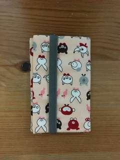 Fabric card holder (布卡片套)