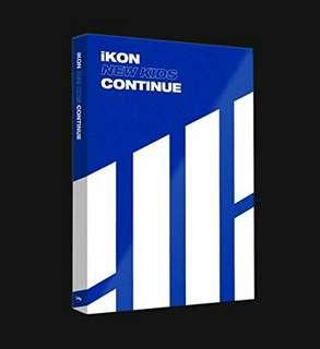IKON NEW KIDS CONTINUE BLUE VER