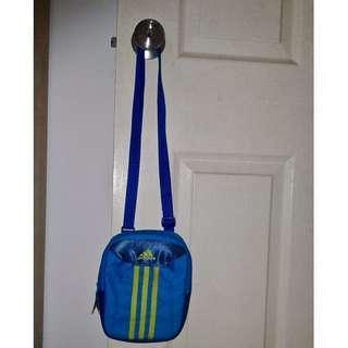 Adidas sling bag (Blue)