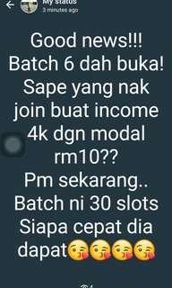 Income RM4020!!! Menanti anda!!!