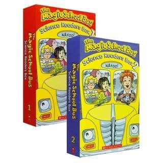THE MAGIC SCHOOL BUS - SCIENCE READERS BOX 1 & BOX 2 (total 20 books)