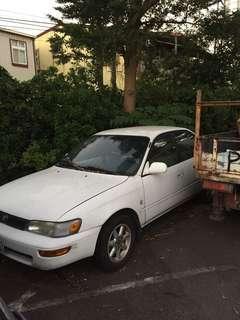 Toyota Corolla 1.8有定速 1994y