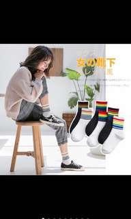 Rainbow socks Pre- order