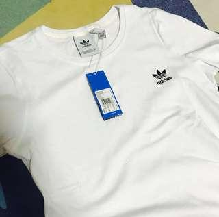 🚚 Adidas White T-shirt 白色愛迪達上衣 CW0712