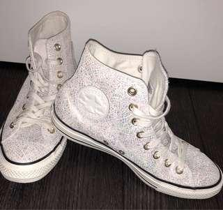 Converse high top sneakers (Women's US 9)