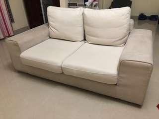 2 seater fabric sofa for SALE!