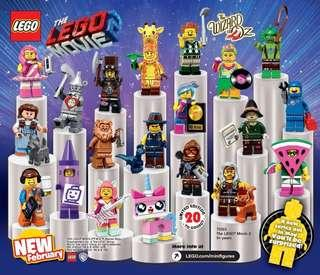 71023 The Lego Movie 2 Collectible Minifigures complete 20 cmf #bricknwood