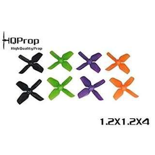 HQProps 31mm/0.8mm 4 Blade