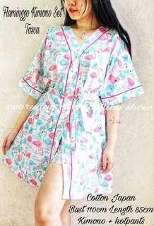 Kimono Wanita Flaminggo Kimono Set Tc Tapi.1881