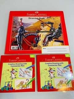 🚚 Faber Castell A5 drawing block and DVD