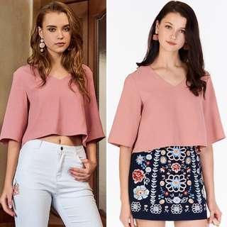 🚚 *BNWT* The Closet Lover -Junique Top in Pink