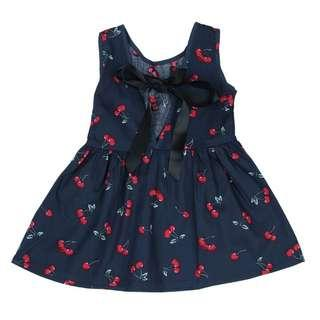 Cherry dress for kids