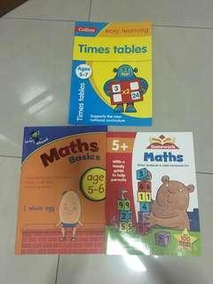 Maths workbooks