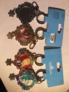 迪士尼frozen key ring , back mirror