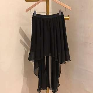 Nyla highlow skirt (tidak termasuk promo/NETT)