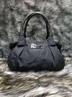 kate spade nylon/leather shoulder bag