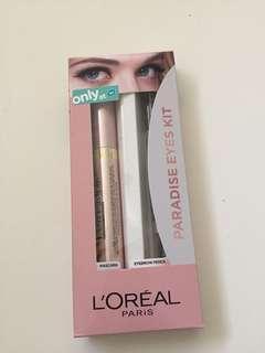 Paradise eyes Kit (mascara & pensil alis)