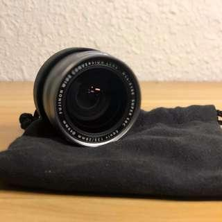 Fujifilm Wide Angle Conversion lens wcl-x100