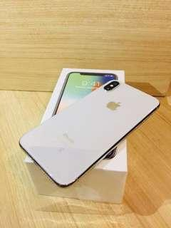 iPhone X 64 GB Silver bekas iBox