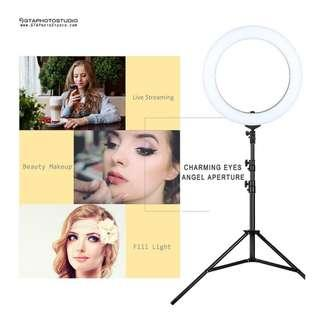 LED Diva Ring Light for Live Streaming, Beauty, Eyelashes, Self Taping & Much More!!!
