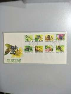 🚚 Singapore FDC Insects LV