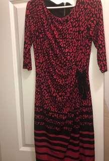 Women's Suzy Shier Cheetah Print Dress