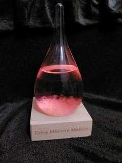 天氣瓶 粉紅色