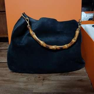 Gucci bamboo shoulder bag (Authentic)