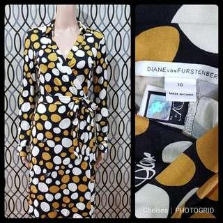 Authentic DVF Wrap Dress