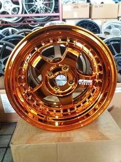 Work Meister 15' Gold Chorme