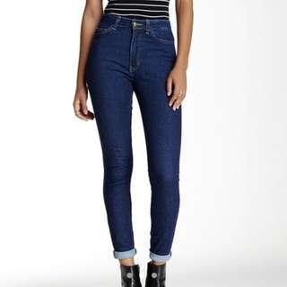 american apparel high waisted pencil jean