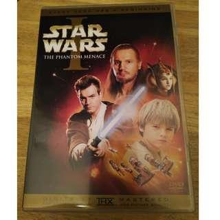 Starwars DVD not Lego