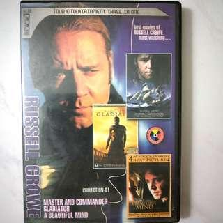 🚚 Russell Crowe Movies DVD